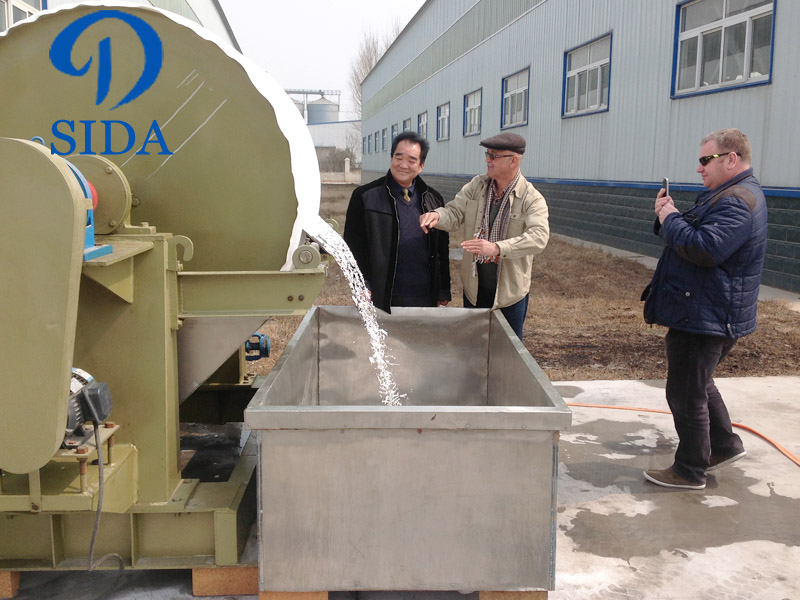 Potato starch processing machine project
