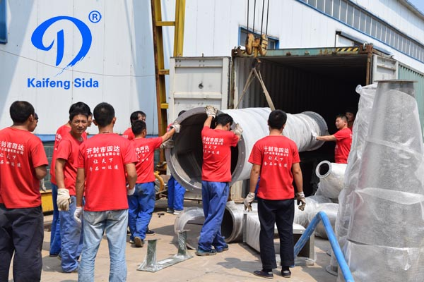 5T/h cassava starch production machinery shipment to Nigeria